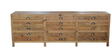 Printmakers Lowline Cabinet Console - Whatever Mudgee Gifts & Homewares