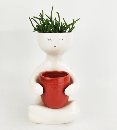 Person Holding A Pot Planter Berry | Med 20cm