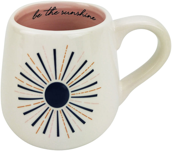 Be The Sunshine | Mug | Blue