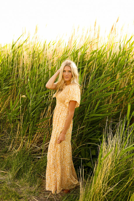 Monterey Marigold Dress