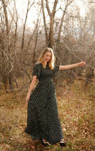 Midnight Meadows Dress
