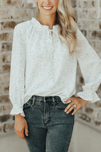 Lydia Polka Dot Top