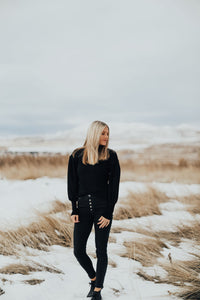 Seattle Sweater in Black