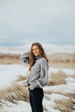 Load image into Gallery viewer, Seattle Sweater in Gray