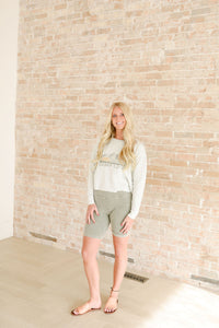 Mountain Biker Shorts in Olive