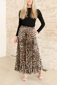 Aliza Pleated Skirt