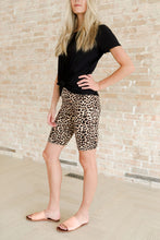 Load image into Gallery viewer, Cheetah Biker Shorts