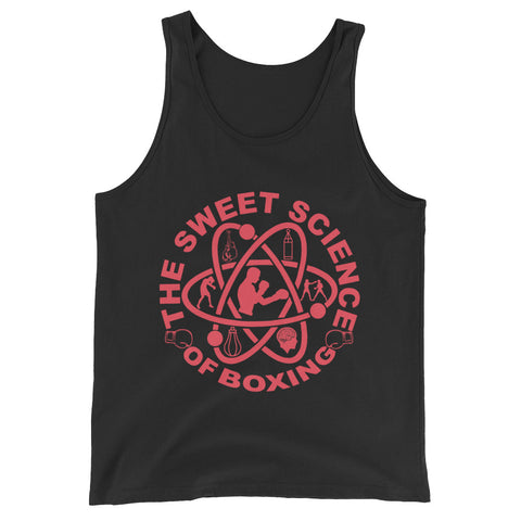 "SWEET SCIENCE SPORTS ""SWEET SCIENCE OF BOXING""  Unisex  Tank Top"