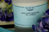 BeRelaxed Massage Oil Candle