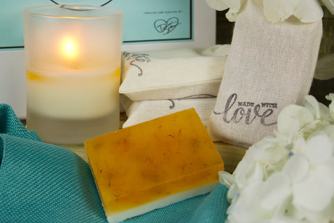 BeCalm All Natural Triple Butter and Silk Soap