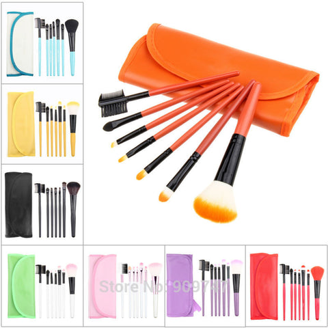 Multi Makeup Brushes Set (7 Pcs)