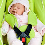 Sometimes carseats out of the car can free our hands and help us out as an extra set of hands but they are developmentally inhibiting for babies.
