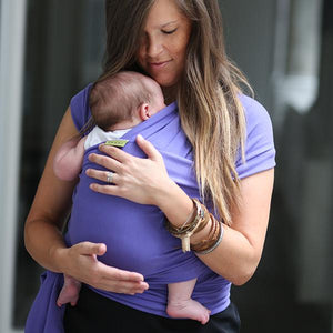 Boba Baby Wrap Carrier Purple