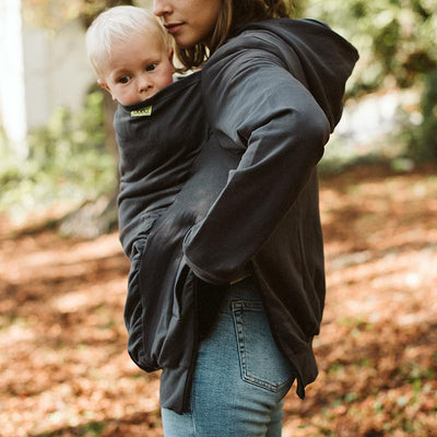 Soft Baby Carrier Hoodie Cover (Grey)  175bee8dc