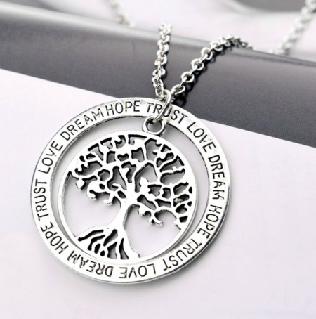Silver Tree of Life Pendant Necklace - soulcenteredclothing