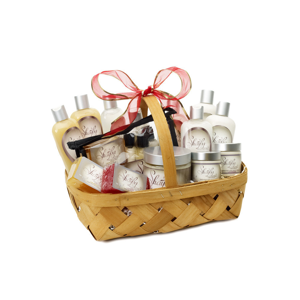 Gift packages shayba naturals large kit gift basket negle Choice Image