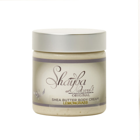 Shea Butter Body Cream- Lemongrass - Old Label