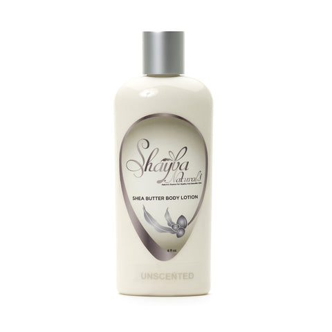 Shea Butter Body Lotion - Unscented