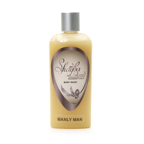 Shea Butter Body Wash- Manly Man