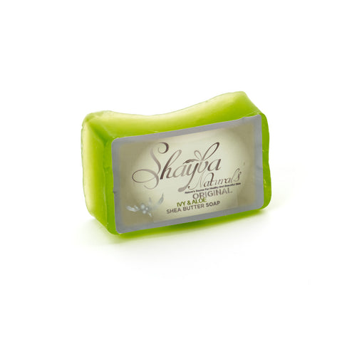 Shea Butter Soap Bar - Ivy & Aloe - Old Label