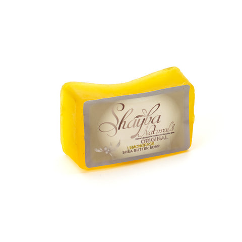 Shea Butter Soap Bar - Lemongrass - Old Label