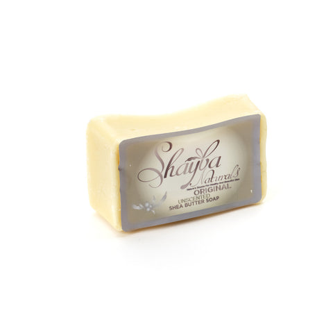 Shea Butter Soap Bar - Unscented - Old Label