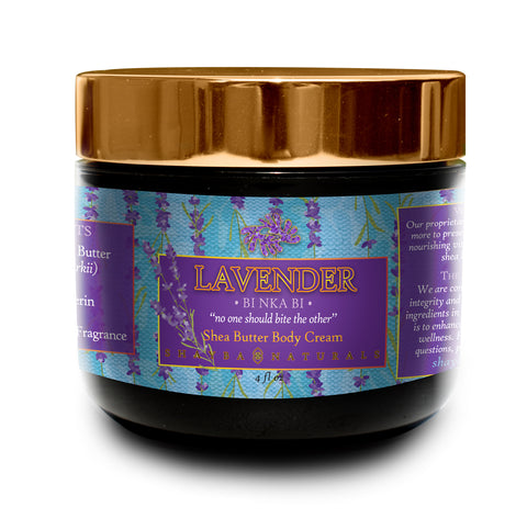 Shea Butter Body Cream- Lavender