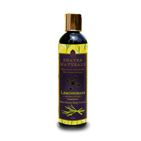 Shea Butter Body Lotion - Lemongrass