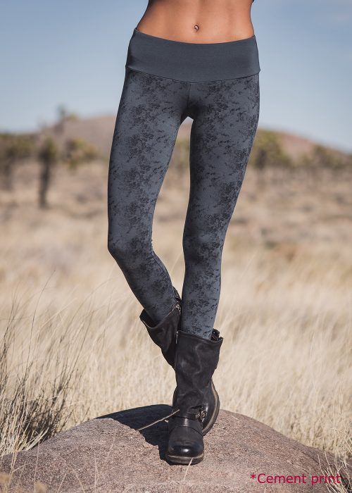 Spectrum Leggings (Cement) By Nomads Hempwear