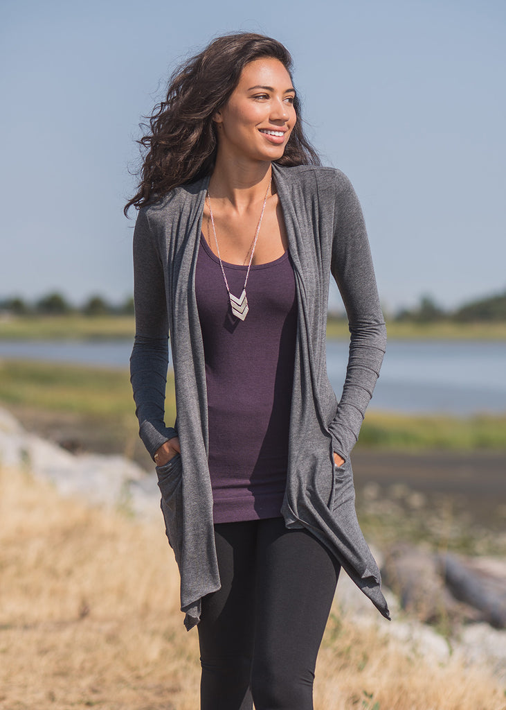 Twilight Cardigan by Nomads Hempwear