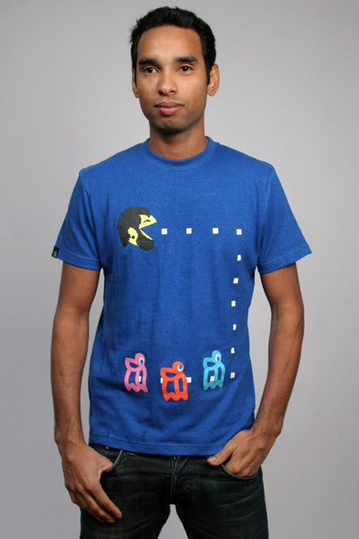 Eat PacMan T-shirt by Hemp Hoodlamb