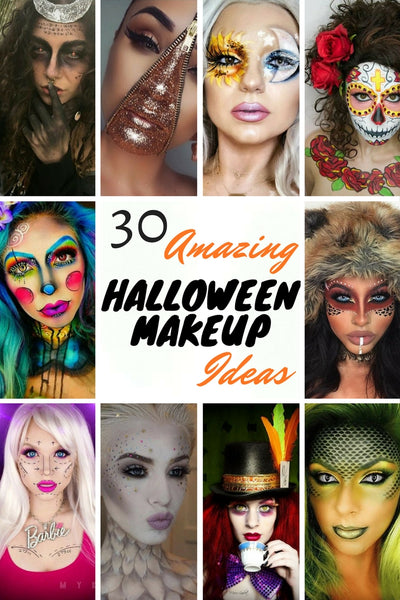 35 Halloween Makeup Ideas