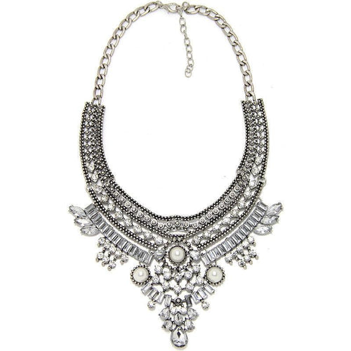Bohemian Crystal Maxi Necklace