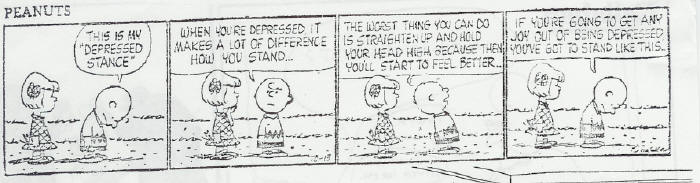 Peanuts and Depression