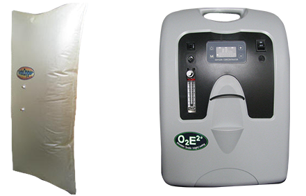 900 LITERS BAG + 5 LPM OXYGEN MACHINE - Breathing.com