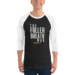 Unisex Fine Jersey Raglan Tee -The Fuller Breath Man - Breathing.com