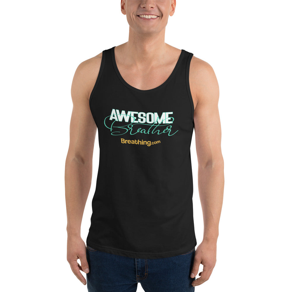 Unisex Jersey Tank  - Awesome Breather