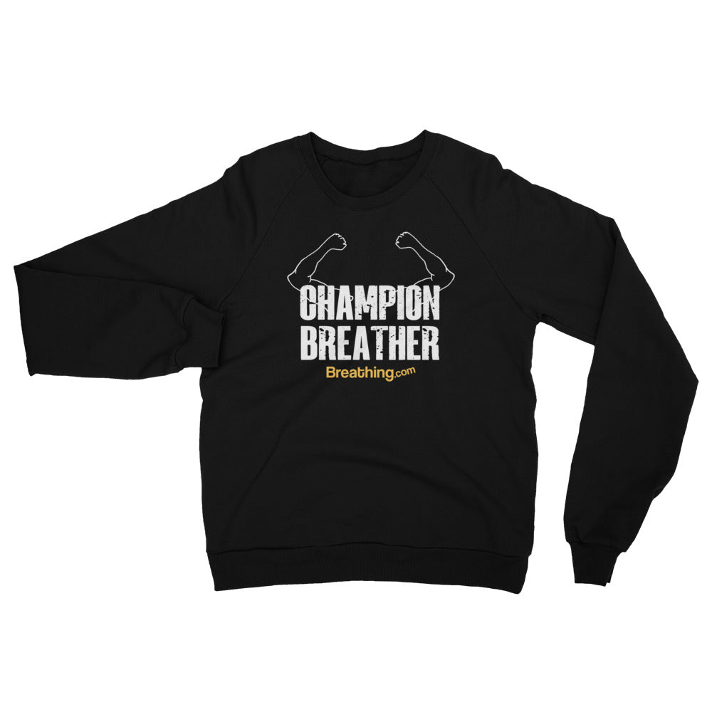 Unisex California Fleece Raglan Sweatshirt - Champion Breather - Breathing.com
