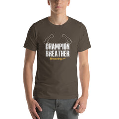 Unisex Short Sleeve Jersey T-Shirt - Champion Breather - Breathing.com