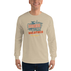 Ultra Cotton Long Sleeve T-Shirt - Fitness Breather - Breathing.com