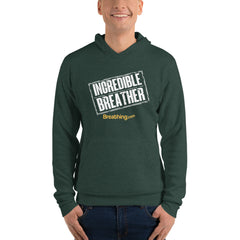 Unisex Fleece Pullover Hoodie - Incredible Breather