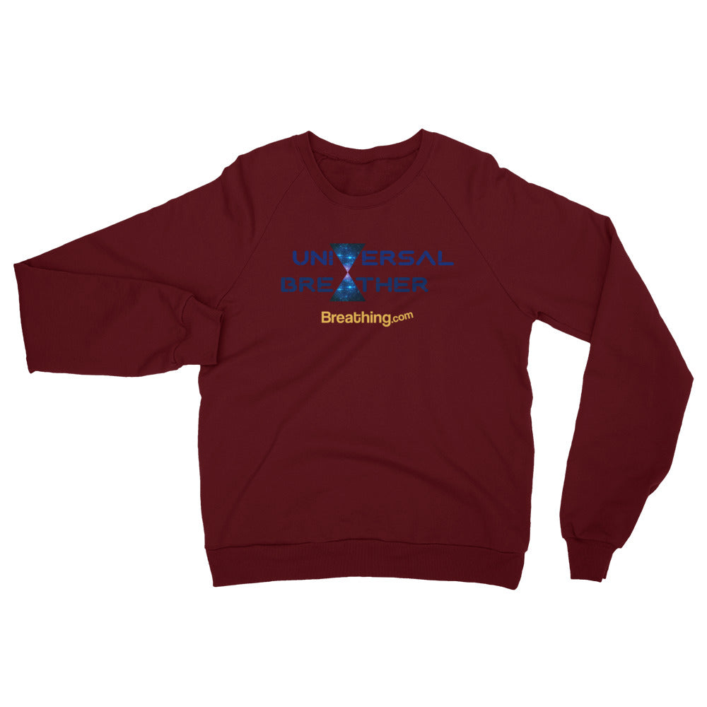 Unisex California Fleece Raglan Sweatshirt - Universal Breather - Breathing.com