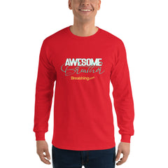 Ultra Cotton Long Sleeve T-Shirt -Awesome Breather - Breathing.com