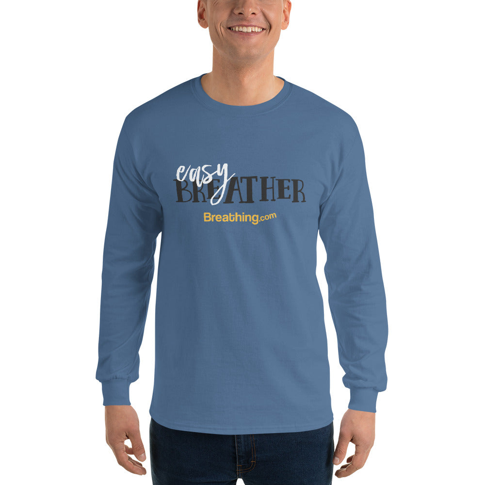Ultra Cotton Long Sleeve T-Shirt - Easy Breather - Breathing.com