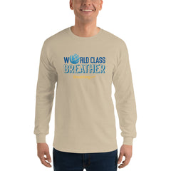 Ultra Cotton Long Sleeve T-Shirt - World Class Breather - Breathing.com