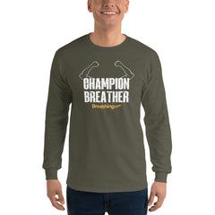 Ultra Cotton Long Sleeve T-Shirt - Champion Breather