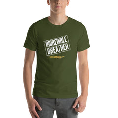 Unisex Short Sleeve Jersey T-Shirt - Incredible Breather - Breathing.com