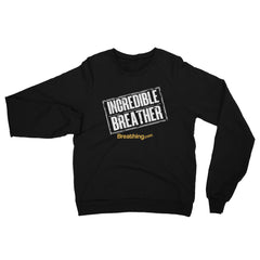 Unisex California Fleece Raglan Sweatshirt - Incredible Breather - Breathing.com