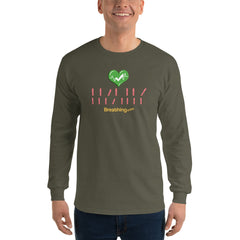 Ultra Cotton Long Sleeve T-Shirt - Healthy Breather - Breathing.com