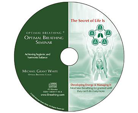 Optimal Breathing Seminar (CD) - Breathing.com